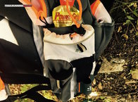 RaidLight Ultra Vest Olmo 5 L: Raidlight Ultra Vest Olmo 5L: detalle portabidones frontal con bolsillo inteior