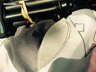 RaidLight Ultra Vest Olmo 5 L: Raidlight Ultra Vest Olmo 5L: desgastre rápido de los elementos reflectantes