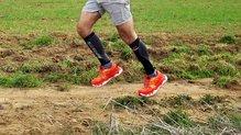 RaidLight Ultramax EVO: Perfiles altos característicos de las zapatillas Raidlight Ultramax Evo.