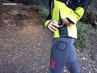 RaidLight Wintertrail ML: Un bolsillo de rejilla a cada lado para transportar pequeñas cosas
