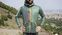 Frontal de Chaquetas térmicas: Salewa - Pedroc Hybrid Alpine Wool Hood Jacket
