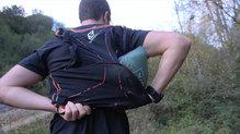 Salewa Pedroc Hybrid Alpine Wool Hood Jacket: Se comprime lo suficiente para poder llevarla en la mochila si es necesario