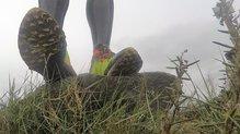 Salming Trail 5: SALMING TRAIL 5: Con suela Vibram Megagrip, muy solvente en multitud de terrenos