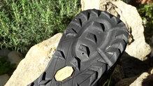 Salming Trail 5: SALMING TRAIL 5: Ligero desgaste en la zona de impacto del talón
