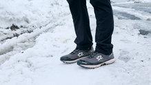 Salming Trail Hydro: En nieve las Salming Trail Hydro se comportan muy bien