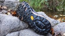 Salming Trail Hydro: La suela de las Salming Trail Hydro con el compuesto Vibram Megagrip