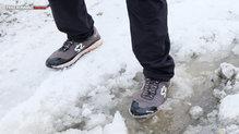 Salming Trail Hydro: Salming Trail Hydro en pleno invierno