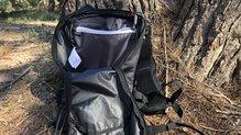 Salomon Agile 6 Set: Vista de la bolsa principal y el bolsillo interior de la Salomon Agile 6