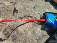 Salomon Agile Belt 500 Set: Salomon Agile Belt 500 Set: la curiosa cinta roja nos sirve para ajustar el cintruón Adjustment Leach