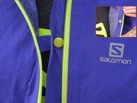 Salomon Bonatti WP Jacket W: Salomon Bonatti WP: cinta interior para poder correr con cremallera abierta
