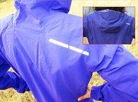 Salomon Bonatti WP Jacket W: Salomon Bonatti WP: reflectante trasero queda parcialmente tapado con la capucha