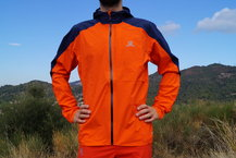 Frontal de Chaquetas membrana: Salomon - Bonatti WP Jacket