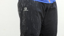 Salomon Bonatti WP Pant: La impermeabilidad de los Salomon WP Pant es suficiente para salir a correr bajo condiciones de mucha lluvia