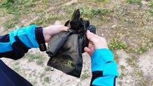 Salomon Elevate Aero FZ Hoodie W: Salomon Elevate Aero FZ Hoodie: bolsillo para plegarlo sobre sí mismo