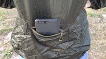 Salomon Elevate Aero FZ Hoodie W: Salomon Elevate Aero FZ Hoodie: el bolsillo no es para llevar peso ni teléfonos