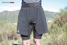 Frontal de Pantalones cortos: Salomon - Exo Pro Twinskin