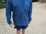 Salomon Park WP Jacket: Largo frontal
