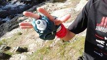 Salomon Pulse Handheld: Salomon Pulse HandHeld: incluso en manos pequeñas consigues buen ajuste