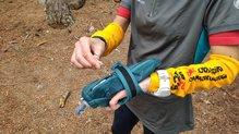Salomon Pulse Handheld: Salomon Pulse HandHeld: cinta en la cremallera para abrir/cerrar fácil con guantes o en movimiento