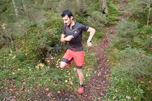 Salomon S-Lab Exo Twinskin Short: Corriendo con los Salomon S-Lab Exo Twinskin Short.