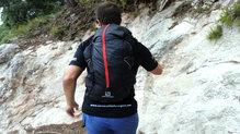 Salomon S-Lab Peak 20: A pesar de los kilómetros el tejido exterior de la mochila se mantiene en perfecto estado