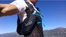 Salomon S-Lab Sense Tee: Salomon S Lab Sense Tee buen fit para llevar mochila