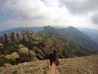 Salomon S-Lab SpeedCross: Largas rutas por Montserrat