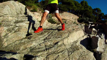 Salomon Sense Ride: ... y en roca.