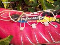 Salomon Speedcross Pro W: El sistema de cierre de las Salomon Speedcross Pro W son los cordones sin atado con el sistema Quicklace.