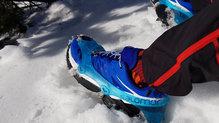 Salomon Wings Pro 3: Salomon Wings Pro3_Buscando la nieve para testar la impermeabilidad