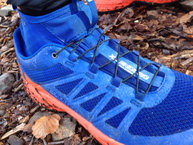 Salomon XA Enduro: Salomon XA Enduro: Sistema Quicklace, atado simple y práctico