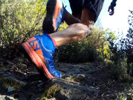 Salomon XA Enduro: Salomon Trail Runner Warm: Buen agarre en subidas pronunciadas