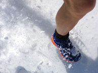 Salomon XA Enduro: Salomon Trail Runner Warm: Nieve? que sea poca, nos vamos a helar!