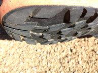 Salomon XA Enduro: Salomon XA Enduro: Ligero desgaste de los tacos traseros