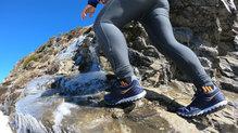 Saucony Xodus ISO 2: El sistema de atado de las zapatillas Saucony Xodus ISO 2 es tradicional pero muy solvente. No se ha revelado ningún problema en la sujeción.