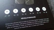 Saxx Underwear Kinetic Boxer: SAXX Underwear Kinetic Boxer: Guía de tallas, recomendamos coger una talla menos