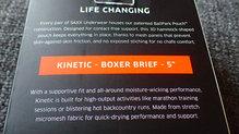 Saxx Underwear Kinetic Boxer: SAXX Underwear Kinetic Boxer: Filosofía y tecnología