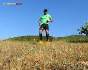 Scott Kinabalu Enduro: Las Kinabalu Enduro en acción en bajadas rápidas: se trata de una zapatilla estable pero poco ágil.