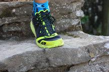 Scott Kinabalu RC: Probando la adherencia de las Scott Kinabalu RC en la roca