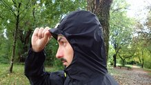 Scott RC Run Waterproof Jacket: Scott RC Run Waterproof Jacket: visera del gorro