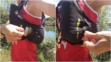 Scott RC TR 4: Scott RC TR 4: los bolsillos laterales son cómodos pero difícil cerrar con 1 mano
