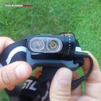 Silva Trail Runner II USB: Lámpara de doble led