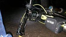 Silva Trail Speed 3XT: Silva Trail Speed 3XT: Con la batería en el cuadro