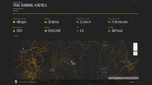 Suunto 9: Mapa y resumen de Movescount