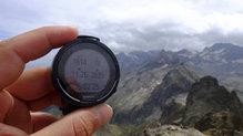 Suunto 9: En en la cima del Pic d'Hourgade