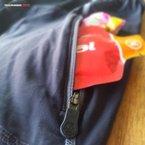 Ternua Baffin: El bolsillo es muy adecuado para portar barritas y geles
