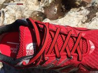 The North Face Ultra Equity GTX: Los cordones de las Ultra Equity GTX son planos, ligeros y resistentes.