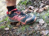 The North Face Ultra MT GTX: Una zapatilla de sujeción firme, pero por zonas