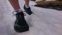 Topo Athletic Terraventure: La nieve acaba empapando las Topo Athletic Terraventure.