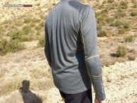 TrangoWorld TRX2 Wool: a simple vista ya se aprecia cierto 'engorde' en hombreras y coderas. Gran presencia además de costuras planas en toda la prenda